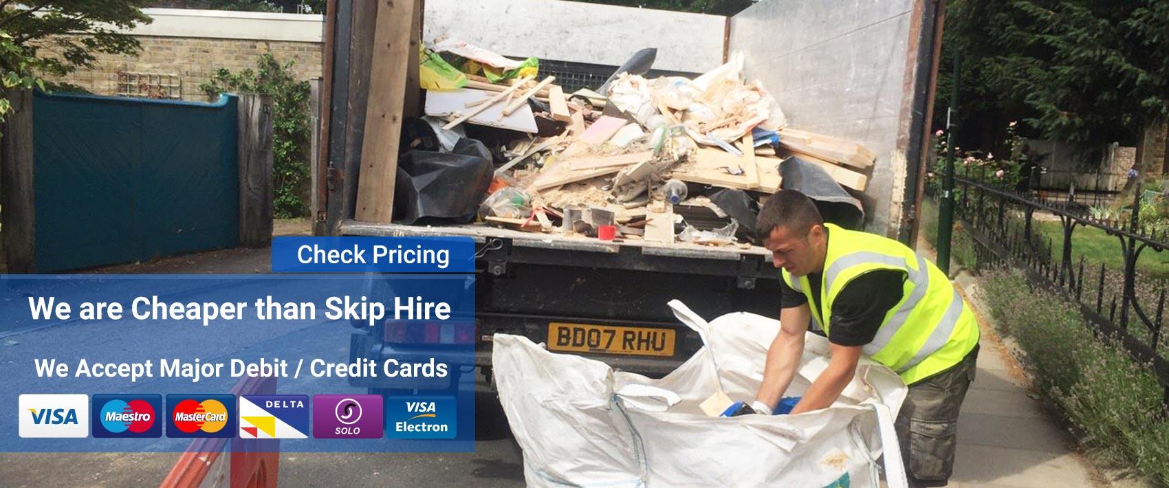 wait and load rubbish clearance london