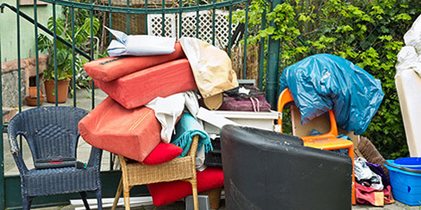 domestic rubbish clearance